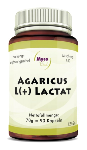 Agaricus L(+) Lactat Kapseln (Mischung 0553)