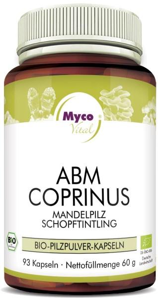 ABM-COPRINUS organic mushroom powder capsules (Blend no. 329)