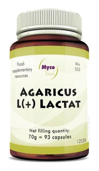 AGARICUS L(+) Lactat capsules (blend 553)