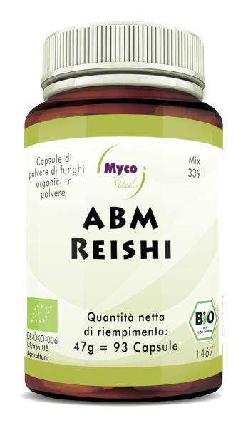 ABM-Reishi Capsule di polvere di funghi organici (miscela 339)