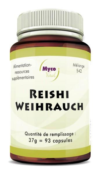 Reishi WEIHRAUCH capsules de poudre (mélange 542)