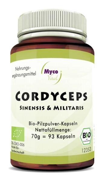 CORDYCEPS Bio-Vitalpilzpulver-Kapseln