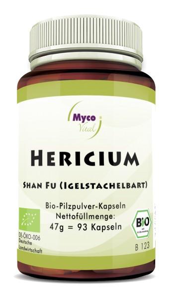 Hericium Bio-Vitalpilzpulver-Kapseln
