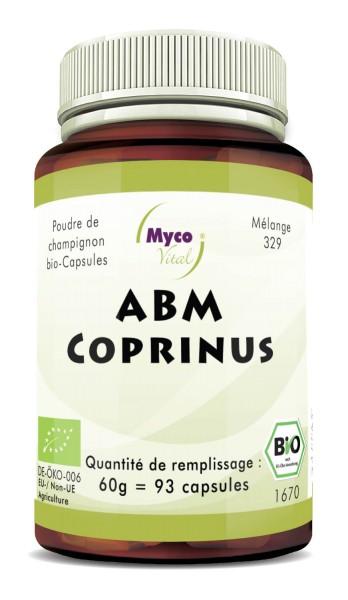 BIO ABM-COPRINUS capsules de poudre de champignon (mélange 329)