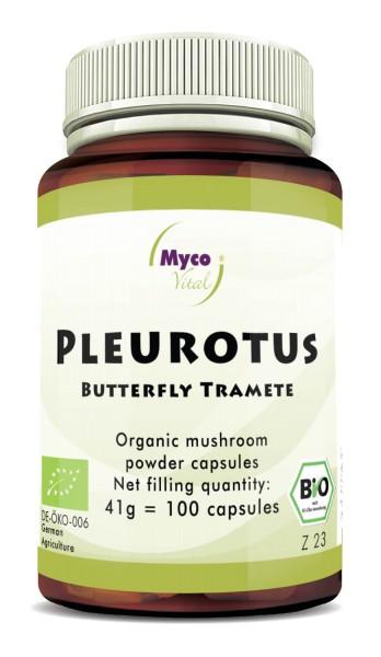 BIO PLEUROTUS capsules de poudre de champignon