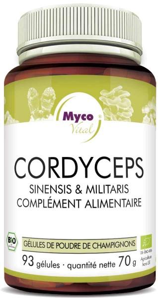 BIO CORDYCEPS capsules de poudre de champignon