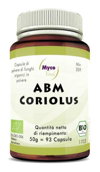ABM-Coriolus Capsule di polvere di funghi organici (miscela 359)