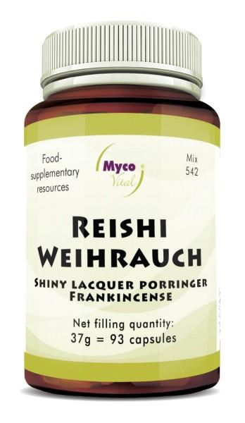REISHI-INCENS powder capsules (blend no. 542)