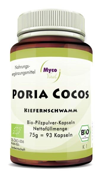 Poria Cocos Bio-Vitalpilzpulver-Kapseln