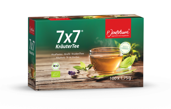 BIO 7x7® HerbalTea 100 sachets de thé