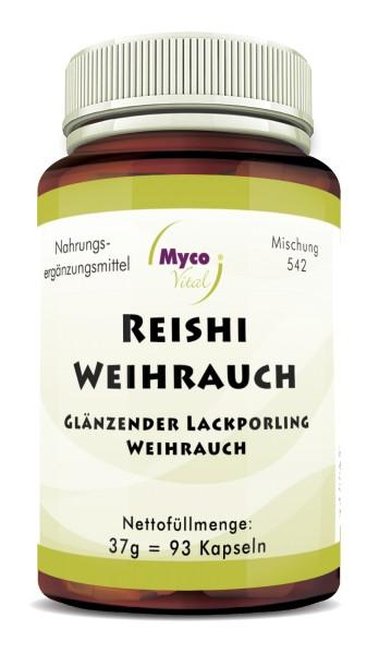 REISHI-WEIHRAUCH-Pulver-Kapseln (Mischung 542)