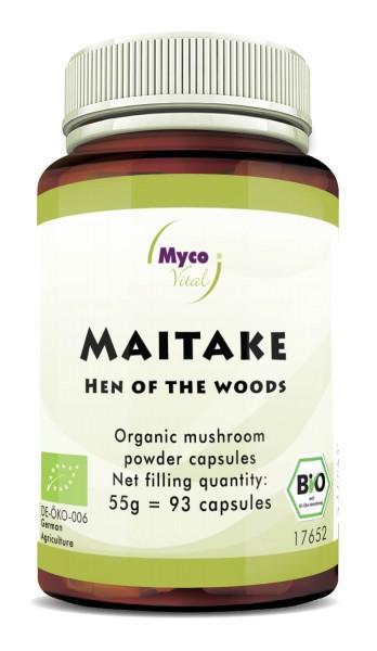 BIO MAITAKE capsules de poudre de champignon