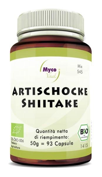 Shiitake-ARTICOCK capsule di polvere organica (miscela 545)
