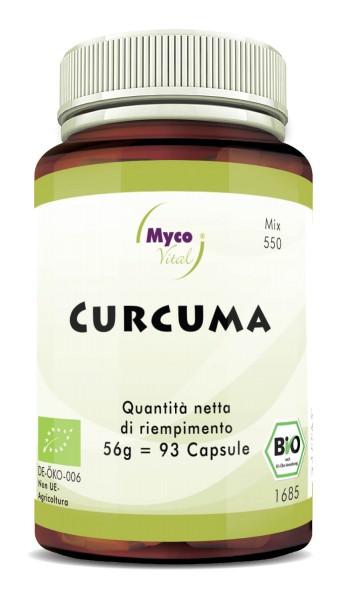 BIO-Curcuma con capsule BIO-Pepper (miscela 550)