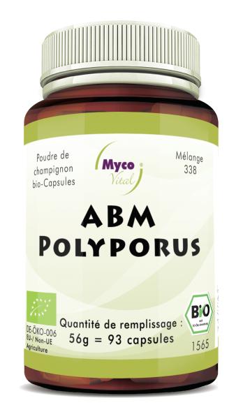 ABM-Polyporus Capsule di funghi organici in polvere (miscela 338)