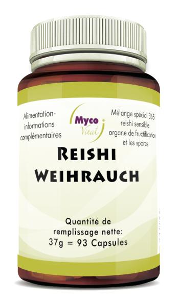 BIO REISH Sensitive-ENCENS capsules de poudre de champignon (mélange 365)