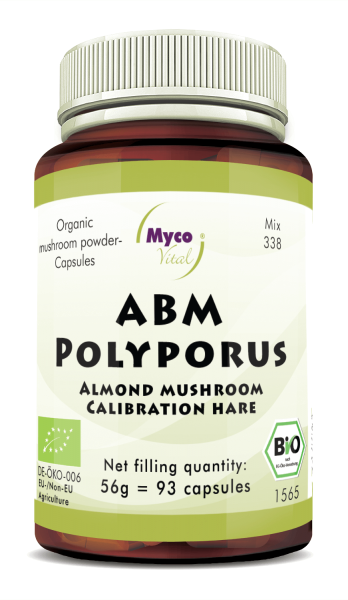 ABM-Polyporus Organic mushroom powder capsules (blend 338)